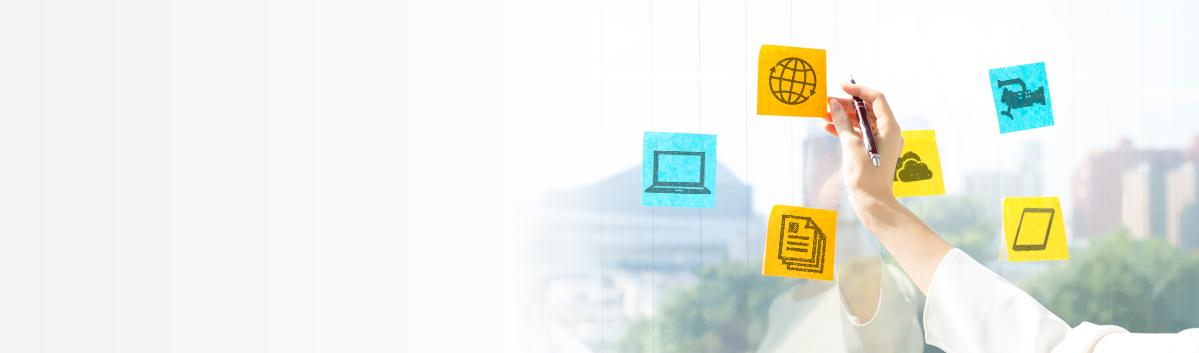 ビジネスの進化をトータルサポート イメージ